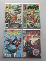 Lot of 4 Amazing Spider-Man (1963 1st Series) Annual #18 20 25 27 B VF V... - $21.78