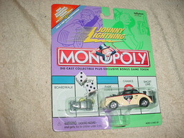 Johnny Lightning Monopoly Vintage Monopoly Willys Mip Free Usa Shipping - $11.29