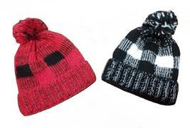 Bundle Lot of 2 Plaid Beanie Hats - $29.99