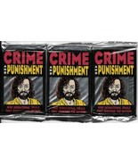 Crime and Punishment 3 Trading Card Packs SEALED NEW UNOPENED 1992 Eclipse - $11.64