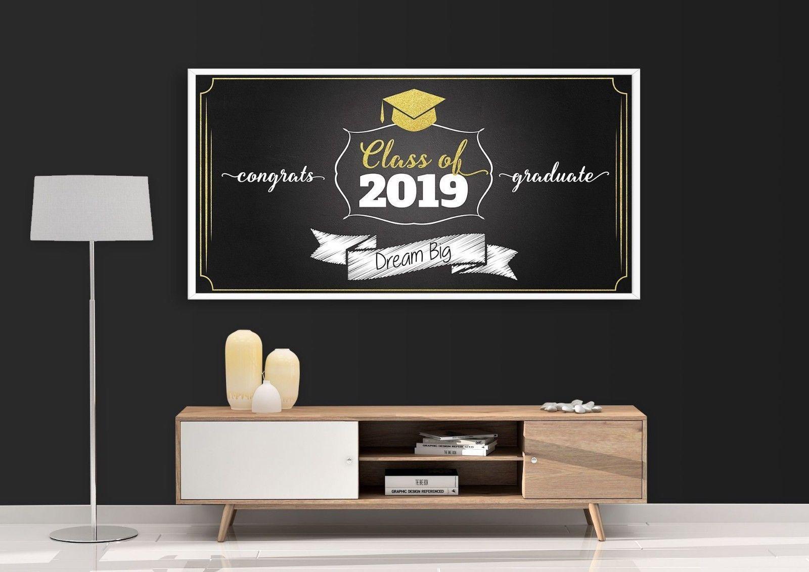 Simple Graduation Congrats Grad Poster Class of 2018 ...