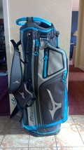 Mizuno BR-D4 4 Way Golf Carry Blue / Black / Grey  Used This Season Only - $137.20