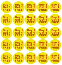 Buy 1 Get 1 Free Sale Stickers Retail Store Flea Market Boutique Usa Made #D52 - $2.99+