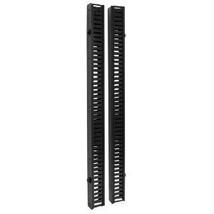 Tripp Lite Rack Enclosure Cabinet 6ft Vrt Cable Manager Double Finger Duct - $208.75