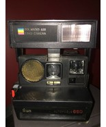 Vintage Polaroid Sun 660 Instant Film Camera for 600 Film Selling Not wo... - $42.06