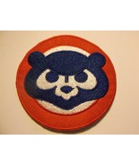 """Chicago Cubs Embroidered PATCH~2 9/16"""" Round~Iron or Sew On~MLB~Ships FREE - $3.95"""