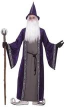 WIZARD COSTUME/ROBE, MENS HALLOWEEN/MAGICIAN FANCY DRESS COSTUME #US - $55.50
