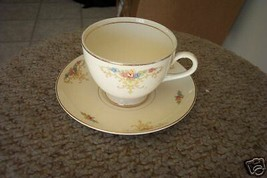 Homer Laughlin cup and saucer () 3 available - $7.43