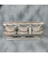 1920's Rodda Candy, Lancaster PA, Triple Chick Chocolate Mold, Reiche, G... - $126.21