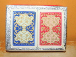 New 2 decks Piatnik Piccadilly Patience Playing Cards Plastic Treated Miniature - $35.99