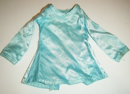 Ideal Crissy Velvet Doll Vintage Blue Aqua Dress ONLY - $6.93
