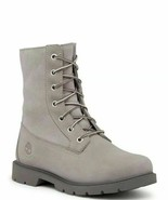 TIMBERLAND A1GYB TEDDY FLEECE WOMEN'S GRAY FOLD DOWN WATERPROOF BOOTS - $84.99