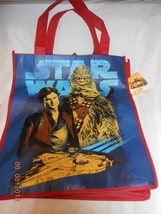 New Star Wars Chewbacca tote reusable shopping grocery bag Valentine Gif... - $4.95