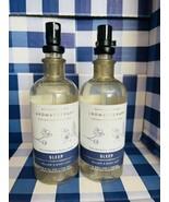 2 Bath & Body Works Aromatherapy SLEEP Chamomile Bergamot Pillow Mist 5.... - $27.62