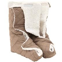 NEW! Foot Leg And Leg Warmers Plush Lining Large Size Men Women US - $31.66