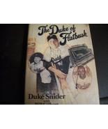 "SIGNED DUKE SNIDER BOOK "" THE DUKE OF FLATBUSH "" BROOKLYN DODGERS - $44.55"