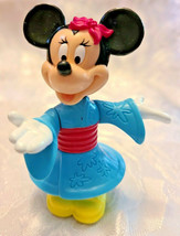 DISNEY EPCOT CENTER JAPAN MINNIE MOUSE KIMONO PVC FIGURINE TOY CAKE TOPPER image 1