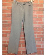 Calvin Klein Womens Dress Pants Size 2 P Gray Career Slacks (DD25) - $14.15