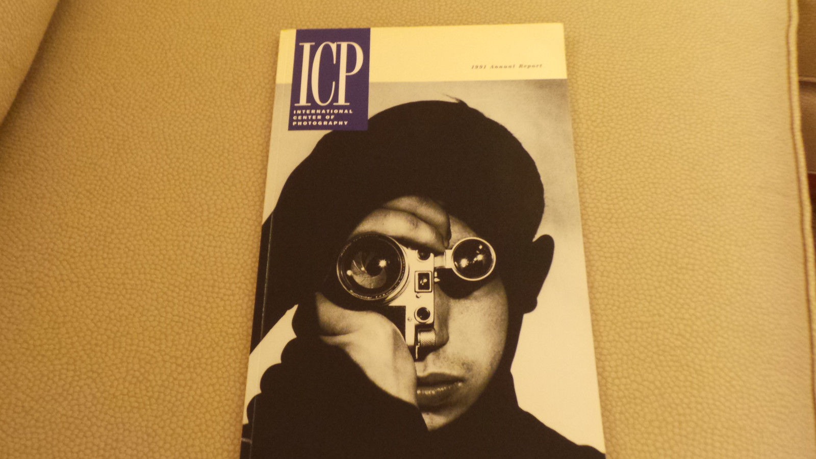 International Center of Photography ICP, New York City 1991 Annual Report VG+