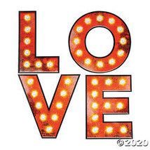Large Love Marquee Cutouts - $15.25