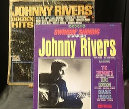 Johnny Rivers' Golden Hits and Johnny Rivers Also Starring The Tremonts AA20-RC2 image 1