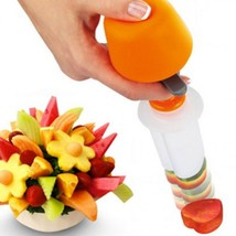 Fruits Carving Vegetables Salad Smoothie Cake Tools Kitchen Cooking Acce... - $10.99