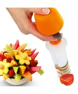 Fruits Carving Vegetables Salad Smoothie Cake Tools Kitchen Cooking Acce... - €9,31 EUR