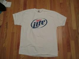 Miller Lite Beer  T Shirt Size XL - $14.99