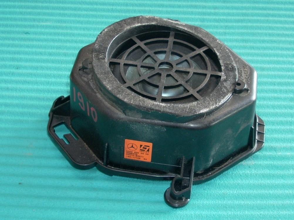 2010 MERCEDES E350 E-CLASS REAR DECK SPEAKER A2048202402 OEM