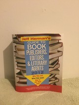 Jeff Herman's Guide to Book Publishers, Editors, and Literary Agents by ... - $15.83