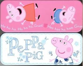 Peppa Pig - Metal Tin Case Pencil Box Storage (Set of 2) - $17.81