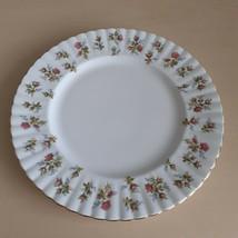 Royal Albert Winsome Dinner Plate Floral Design - $8.46