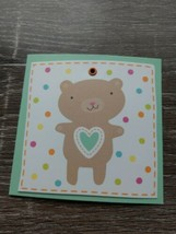 American Greetings Small Blank Greeting Card~Teddy Bear~New~Shipn24 ~ - $1.28