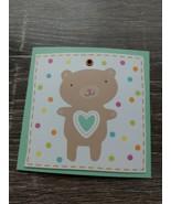 American Greetings Small Blank Greeting Card~Teddy Bear~New~Shipn24 ~ - $1.28