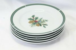 Fairfield Wintergreen Plates and Bowls Lot of 15  Christmas image 12