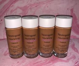 4 Neutrogena Nourishing Long Wear 12 Hour Makeup Chestnut 135 1 Fl Oz SPF 20 - $18.31