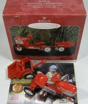 Hallmark Keepsake Kiddie Car Classics 1955 Murray Tractor & Trailer 1998 - $13.99