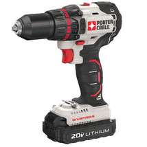 Porter-Cable 20V MAX 1.3 Ah Li-Ion Compact Brushless Drill Driver PCC608... - $149.89
