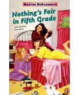 Nothing's Fair in Fifth Grade by Barthe DeClements (1990, Paperback) - $4.00