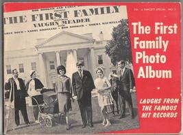 The First Family Photo Album Trade Book, JFK Humor 1963 - $29.02