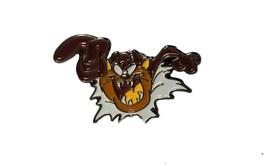 Taz Tazmania Devil Looney Toones Retro licensed very detailed pin badge,  Lapel