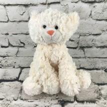Ganz Cat Plush Cream Off-White Long Haired Sitting Stuffed Animal Soft Toy - $14.84