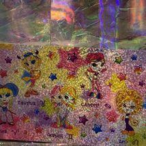 Rare Lisa Frank Long Prism Holographic Sticker Sheet ZODIAC HOROSCOPE ASTROLOGY image 3