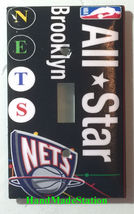 All Star Brooklyn NY New York Nets Light Switch Power Outlet Wall Cover Plate image 1