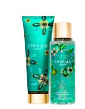 Victoria's Secret Emerald Crush Fragrance Lotion + Fragrance Mist Duo Set - $39.95
