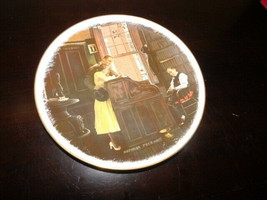 norman rockwell vintage plate the marriage license 1976 - $5.00