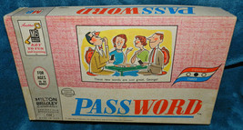 ANTIQUE/VINTAGE Password Game 1963 Milton Bradley - $20.29