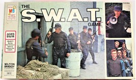The SWAT ~ S.W.A.T. Board Game 1976 Team Police Board Game - COMPLETE - $39.59