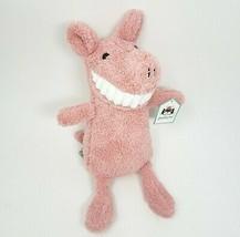 "12 "" Jellycat Toothy Rose Souriant Dents Cochon Peluche Animal Jouet Avec / - $64.49"