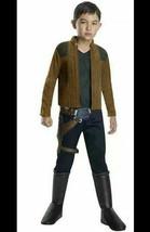 HAN SOLO Costume Sz S Child Boys Halloween Cosplay Rubies Star Wars 6412... - $16.02